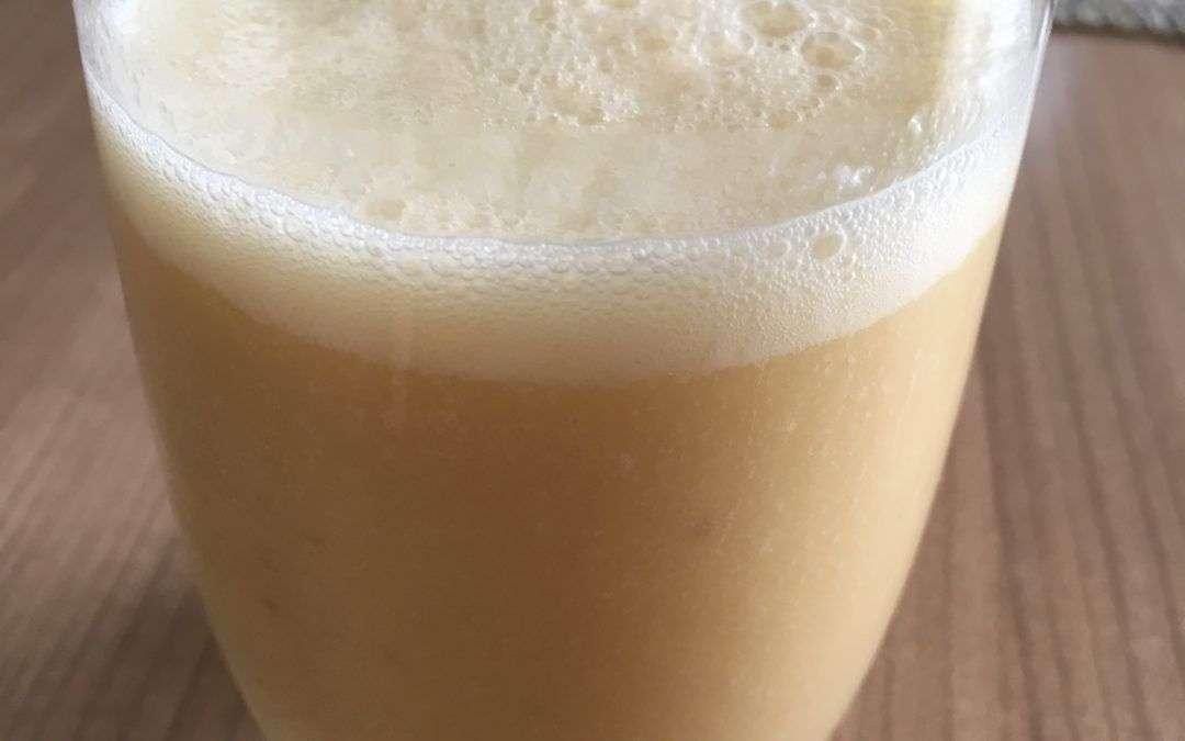 Mandelmilch Orangen Shake