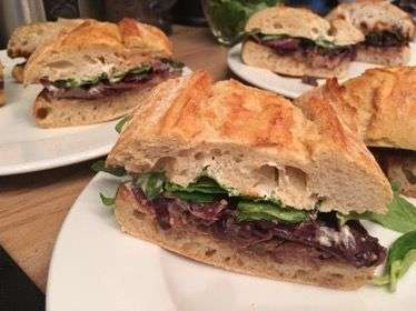 Rinder Sandwiches