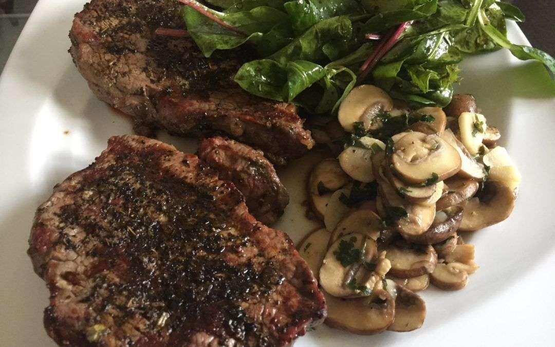 Earl Grey Steaks