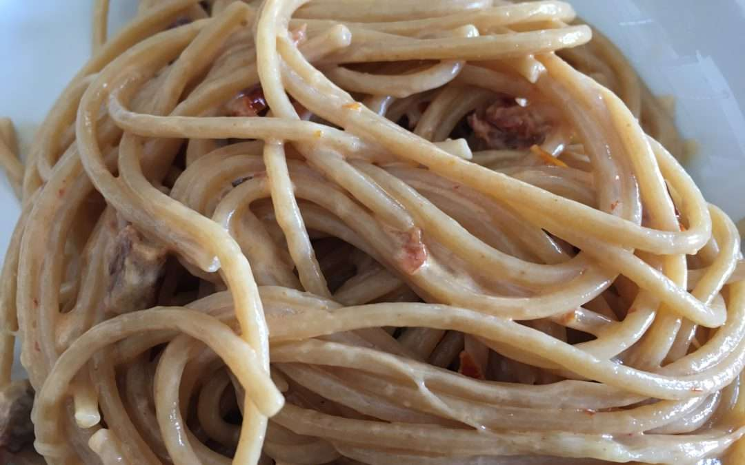 Spaghetti Tomate Mozzarella